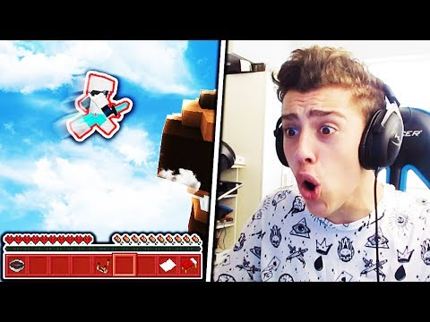 Donator CAUGHT Fly Hacking (Minecraft Skywars)