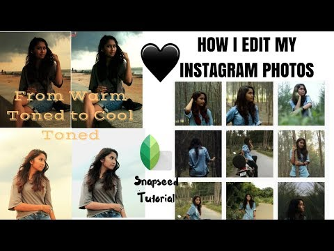 HOW I EDIT MY INSTAGRAM PHOTOS TO BE COOL TONED // SNAPSEED TUTORIAL