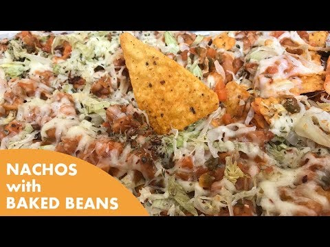 How to make Nachos with Baked Beans
