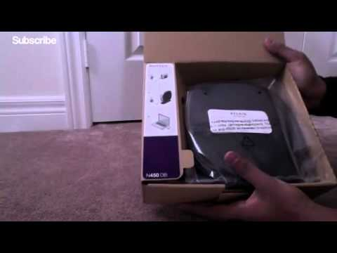 Belkin N450DB Router Unboxing and Overview