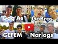 GoBros/ Gag As/ #Gefem/ Narlogs   Ում եմ հանդիպել Երեւանում?   LuzeQ