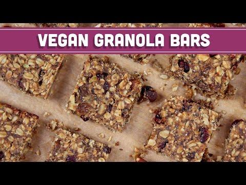 Homemade Granola Bars, Vegan & Gluten Free! - Mind Over Munch