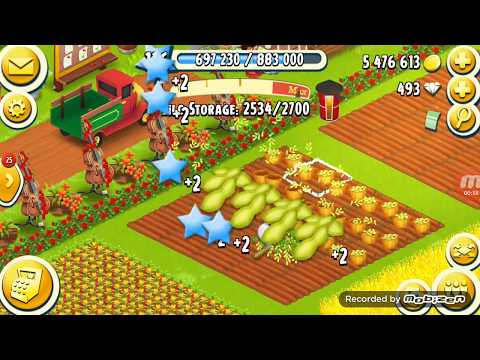 Upgrade Barn 3300 and Silo 2750 | Hay Day Gameplay
