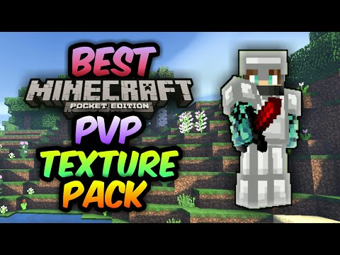 ✔BEST MCPE PVP TEXTURE PACK | FPS Boost + No Lag | 1.2 | iOS and Android Download | Minecraft Pe