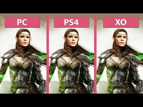 The Elder Scrolls Online – PC vs. PS4 vs. Xbox One Graphics Comparison [60fps][FullHD]
