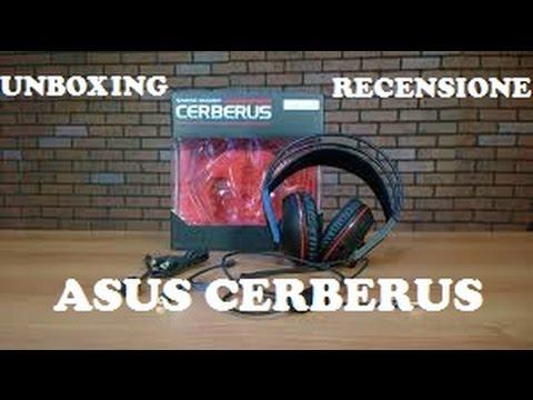 Cuffie da Gaming Asus Cerberus - 📦 Unboxing & Recensione
