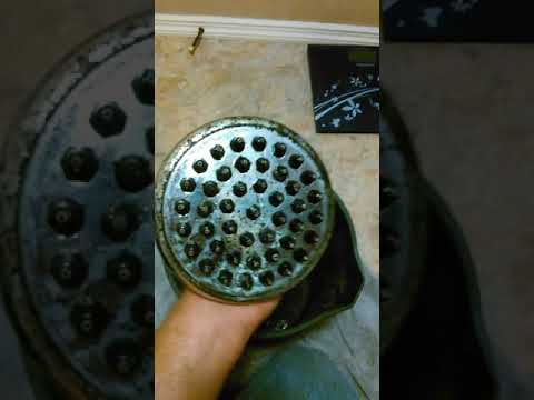 how to clean your shower head useing vinegar