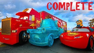 Lightning McQueen Mission Story of The FROZEN MATER Movie CARS 3 4 KIDS and DISNEY PIXAR Princess