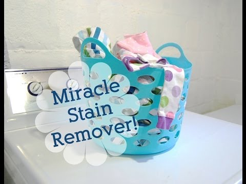 Miracle Stain Remover For Your Laundry!