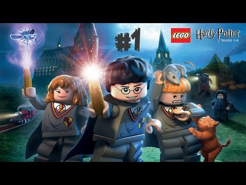 Gaming With Brother | LEGO Harry Potter Years 1-4 | #1 - We Begin