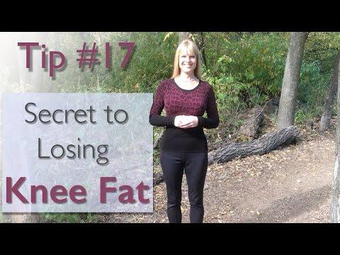 Secret to Losing Knee Fat