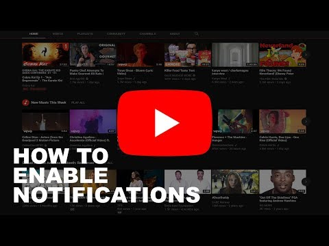 How to Enable Notifications on YouTube