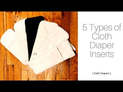 Xxx Mp4 COMPARISON OF 5 TYPES OF CLOTH DIAPER INSERTS Cloth Diapers 3gp Sex
