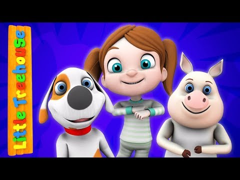 Wind The Bobbin Up | Nursery Rhymes for Babies by Little Treehouse