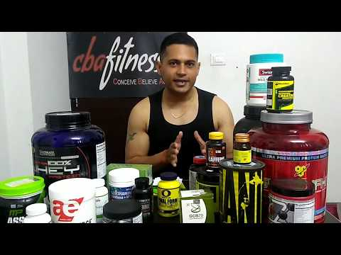 Complete Supplement Guide India (Protein Powder, Pre-workout, Multivitamin, Fat burner, Fish oil)
