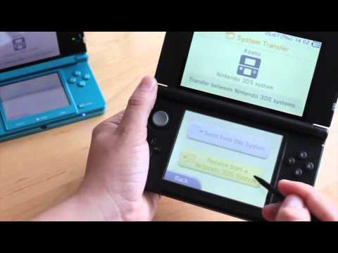 How to transfer data from Nintendo 3DS to the new Nintendo 3DS XL