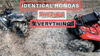 How to lock the front diff on a Honda Rancher 420 - PakVim