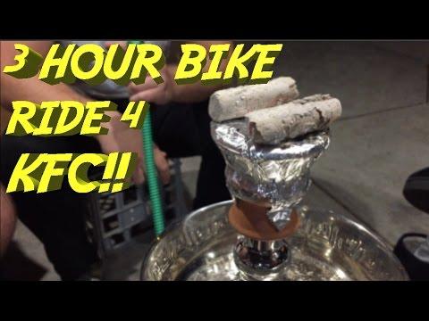 3 HOUR BIKE RIDE FOR KFC AND HOOKAH!? WTF Bike Adventure #001