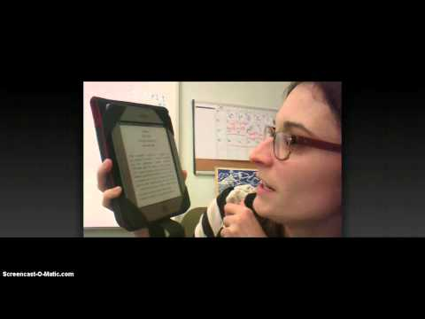 Whispercasting on the Kindle