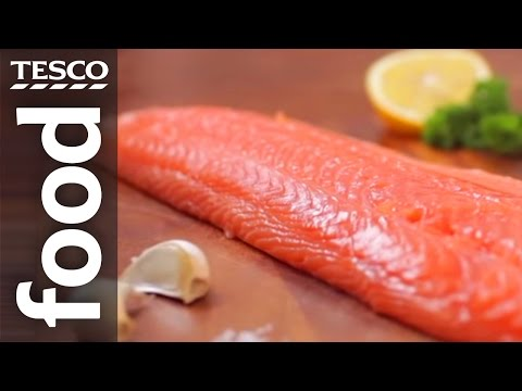 How to Fillet a Whole Salmon | Tesco Food