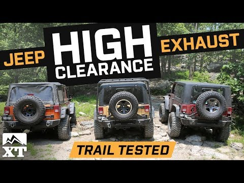 The Best Jeep Wrangler Exhaust For Off-Roading - High Clearance vs Factory