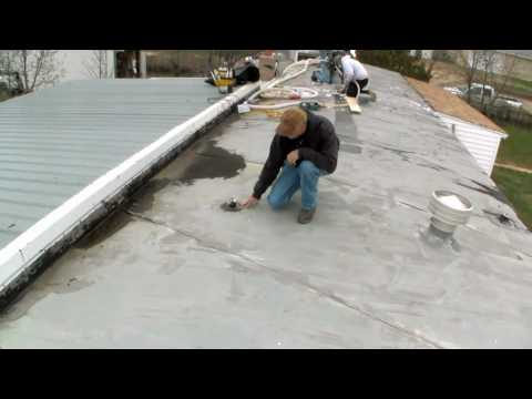 Mobile Home Insulation: Drilling through the Roof