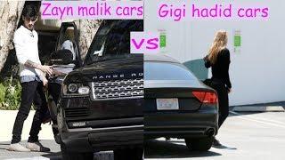 Zayn malik cars vs Gigi hadid cars (2018)