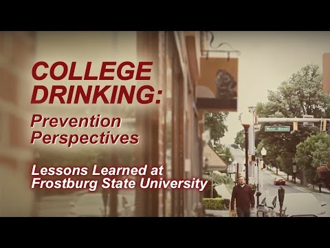 College Drinking: Prevention Perspectives – Lessons Learned at Frostburg State University