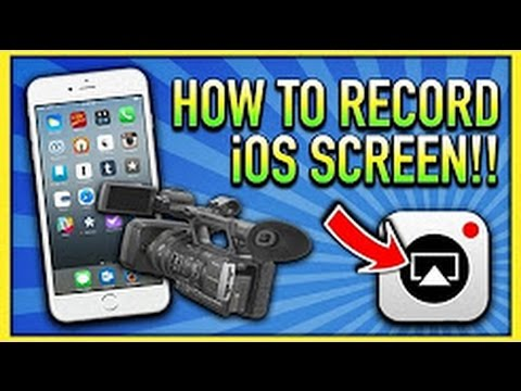 How to Record iPhone, iPad & iPod Touch Screen FREE No Jailbreak on iOS 9/10 - 10.3.1 (1080p/60FPS)