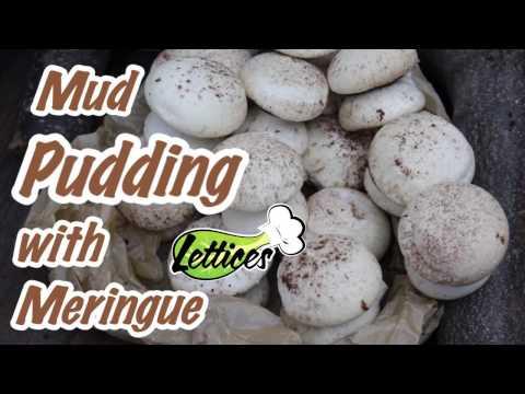 Mud Pudding & Meringue Mushrooms - Day 12