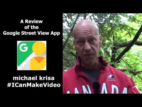 A review and demo of the Google Street View app