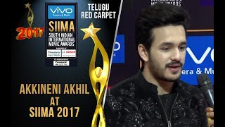 Akkineni Akhil At Siima 2017 - Telugu Red Carpet