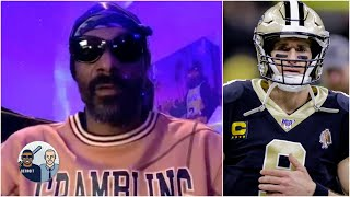 Snoop Dogg believes in Drew Brees' apology but the locker room is different | Jalen & Jacoby