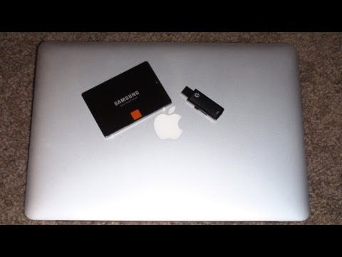 Install OSX Mountain Lion 10.8 to a external hard drive.