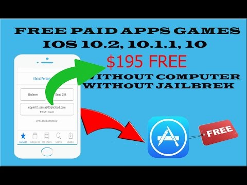 Download Apps , Games FREE from App Store iOS 10.2-10.1.1 iPhone , iPad (NO CRASHING)