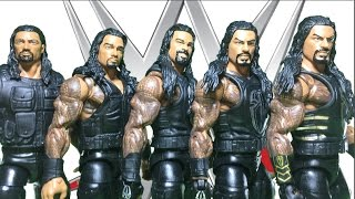 The Evolution of Roman Reigns | All Roman Reigns Elite WWE Figures