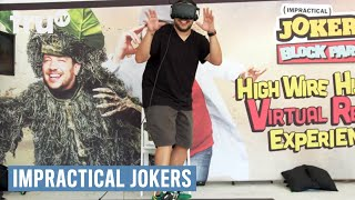 Virtual High Wire Surprise from Impractical Jokers & Mountain Dew | truTV