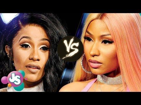 Cardi B VS Nicki Minaj SONG BATTLE: Who Will Win? | JS