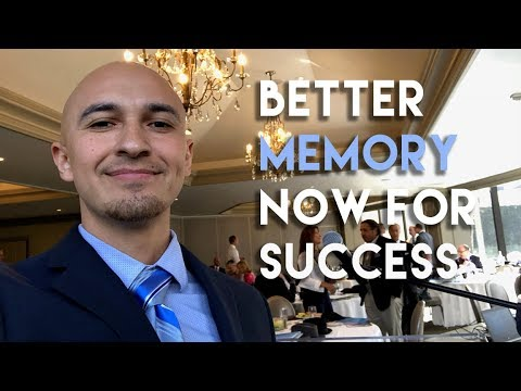 Memory Improvement Speech for Principal Financial Group by Luis Angel | Memory Coach
