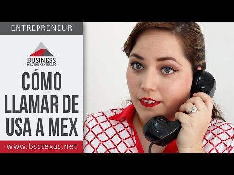 Cómo llamar de Estados Unidos a México y de México a Estados Unidos