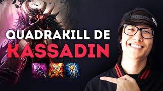 QUADRAKILL DE KASSADIN - STREAM HIGHLIGHTS TIN #01