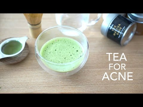 Clear Hormonal Acne with Tea | How to make Matcha