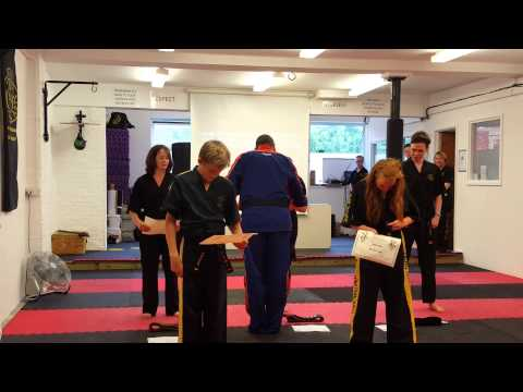 TMA Black Belt Presentation - 3rd July 2015