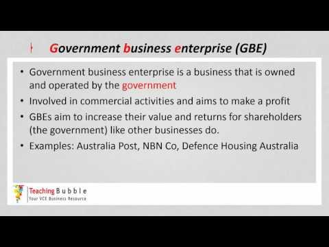 VCE Business Management - Social Enterprise & GBE