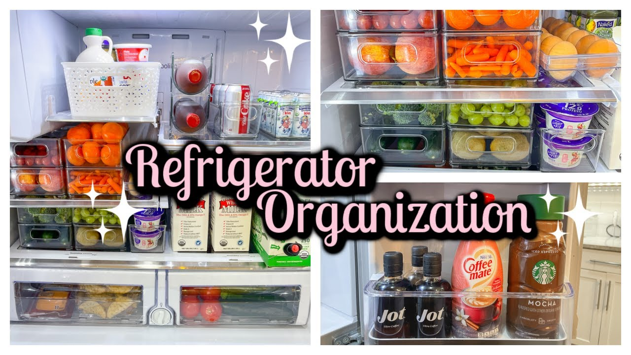 EXTREME REFRIGERATOR ORGANIZATION   REFRIGERATOR ORGANIZATION IDEAS   NEST WITH ME   Tara Henderson