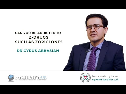 Can you be addicted to Z drugs such as Zopiclone?