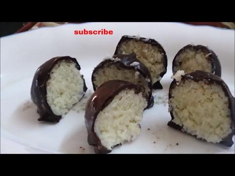 Homemade Bounty Chocolate - Bounty Balls