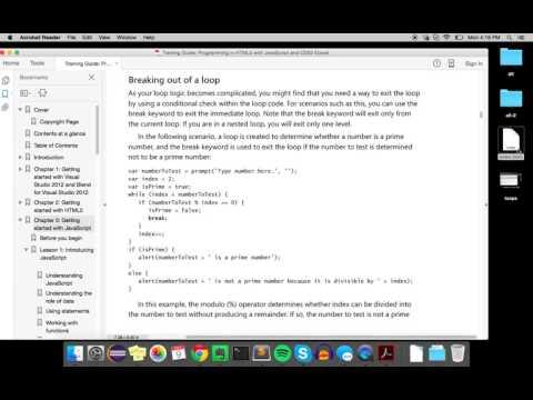 Breaking out of a Loop (JavaScript)