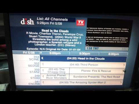 Dish Network in Costa Rica - 121w + 119w - All SD/HD TV Channels