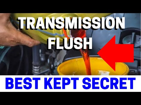 How To Do A Transmission Fluid Flush (Don't Flush Your Money Down The Toilet)